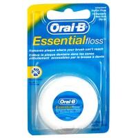 Зубная нить Oral-b  Essential floss невощеная 50м