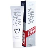 Зубная паста  Global White отбеливающая 100 мл