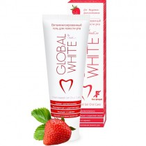 Гель витаминный Global White земляника 40 мл