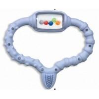 Стимулятор Curaprox для прорезывания временных зубов, голубой Curababy boy