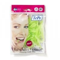 Зубная нить TePe Mini Flosser на держателе (36 шт)