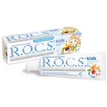 Зубная паста Рокс детская от 4 до 7 лет Фруктовый рожок, 45 гр