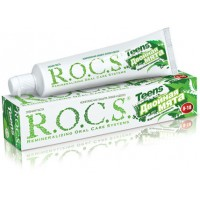 Зубная паста Рокс Teens Двойная мята. Взрывная свежесть, 74 гр
