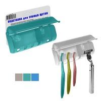 Подставка для зубных щеток на присосках