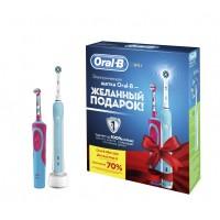 Набор зубных щеток Oral-B Pro 500/D16.513U и Stages Power Frozen D12.513K