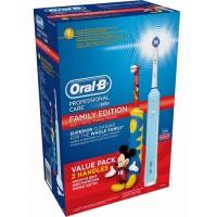 Набор зубных щеток Oral-B Professional Care 500 и Mickey D10.513