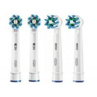 Насадки для электрической зубной щетки Oral-B CrossAction EB50-4 4 шт
